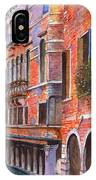 Curved Canal Venice IPhone Case
