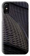 Curved Lattice Structure  IPhone Case