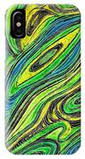 Curved Lines 5 IPhone Case