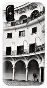 Curved Seville Spain Courtyard IPhone Case