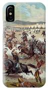 Custer's Last Charge IPhone Case