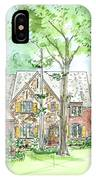 House Portrait Or Rendering Sample IPhone Case