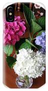 Cut Hydrangeas IPhone Case