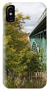 Cut River Bridge 2 IPhone Case