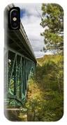 Cut River Bridge 3 A IPhone Case