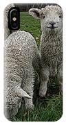 Cutest Lamb Ever IPhone Case