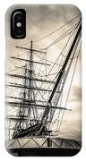 Cutty Sark Sepia IPhone Case
