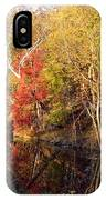 Cuyahoga Valley National Park Autumn Color IPhone Case