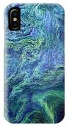 Cyanobacteria Bloom IPhone X Case