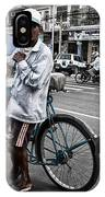 Cyclo Pousse Psar Thmei IPhone Case