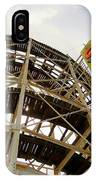 Cyclone Roller Coaster IPhone Case