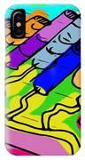 Cylinder Divergence IPhone Case