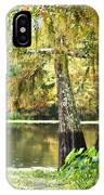 Cypress And Moss IPhone Case