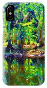 Cypress Coast IPhone Case