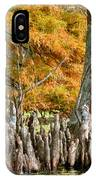 Cypress Knees In Fall IPhone Case