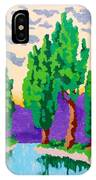 Cypress River IPhone Case
