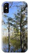 Cypress Swamp IPhone Case