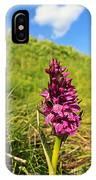 Dactylorhiza Orchid IPhone Case