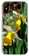 Daffodil Buddies IPhone Case