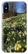 Daffodil Hill IPhone Case