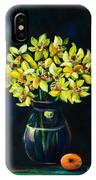 Daffodils And Fruit IPhone Case