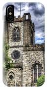 Dagenham Village Church IPhone Case