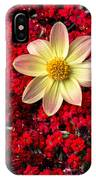 Dahlia And Kalanchoe IPhone Case