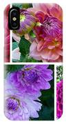 Dahlia Best Collage IPhone Case