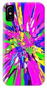 Dahlia Flower Abstract #1 IPhone Case