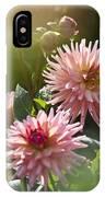 Dahlia Garden IPhone Case