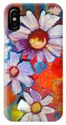 Daisies And Strawberries 2014 IPhone Case
