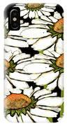 Daisies In The Dark IPhone Case