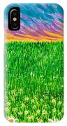 Daisies In The Park IPhone Case