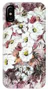 Daisy Blush Remix IPhone Case