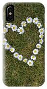Daisy Heart IPhone Case