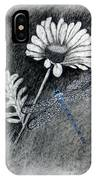 Daisy N Dragonfly IPhone Case