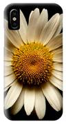 Daisy On Black Square IPhone Case