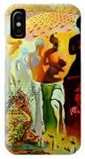 Dali Oil Painting Reproduction - The Hallucinogenic Toreador IPhone Case