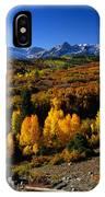 Dallas Divide Fall Colors IPhone Case