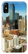 Dallas Skyline As Seen From Reunion IPhone Case