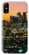 Dallas Texas Skyline In A High Heel Pump IPhone Case