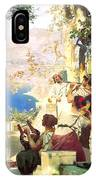 Dance Amongst The Daggers IPhone Case