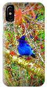Dance Of Blue Jay IPhone Case