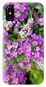 Dance Of Flowers IPhone Case