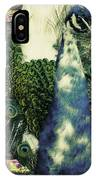 Dance Of The Peacock IPhone Case