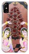 Dancers In Mughal Court IPhone Case