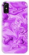 Dancing Flames-purple IPhone Case