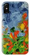Dancing Flowers IPhone Case