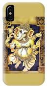 Dancing Ganesh IPhone Case