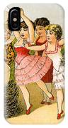 Dancing Girls IPhone Case